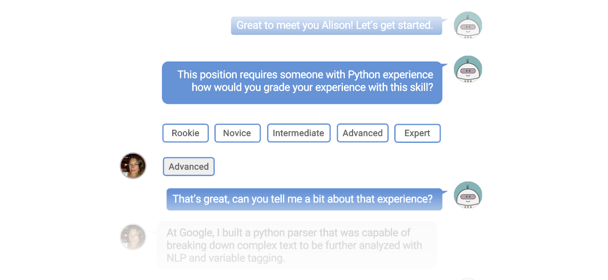 Deliver richer candidate experiences